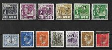 JAPANESE OCCUPATION NETHERLANDS INDIES Mint LH Set of 13 Stamps Unchecked