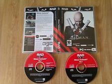 Hitman Contracts PC CD ROM