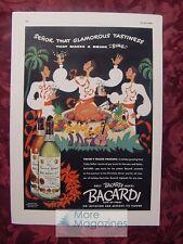 1936 Esquire Advertisement Bacardi Rum SCHENLEY's Ancient Special Reserve Rye