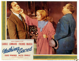 Nothing Sacred 1937 Carole Lombard, Fredric March  Comedy DVD