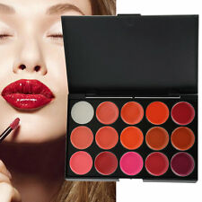 Multi-colored 15 Colors Makeup Palette Cosmetic Gloss Lipstick Lip of One Set P2