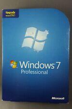 Windows 7 Professional Upgrade For Vista 32/64 bit DVDs w/ product key