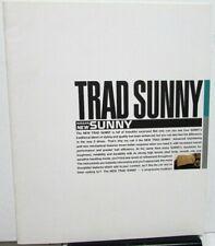 1998 Nissan Oriental Dealer Trad Sunny Japanese Text Large Sales Brochure