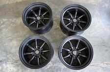 JDM 15X9 pcd100x4 wheels RS Banana watanabe e30 Miata mx5 mx-5 eunos civic na8c