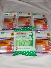 5 Equate Interdental Brush Cleaners And 1 Plackers Dental Flossers