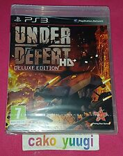 UNDER DEFEAT HD DELUXE EDITION JEU PS3 SONY PS3 NEUF SOUS BLISTER