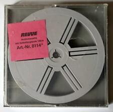 *** UNE BOBINE DE STOCKAGE REVUE - FILMS SUPER 8MM - 120 METRES AVEC BOITE ***