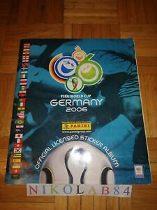 GERMANY 2006 PANINI Complete album FIFA World Cup Very Good