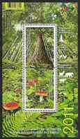 Canada Stamps - Souvenir sheet - 2011, International Year of Forests #2461 - MNH