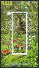Canada Stamps -Souvenir sheet -2011, International Year of Forests #2461 -MNH