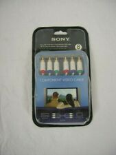 Sony VMC-CV24T Premium High Definition Component Video Cable 8ft White