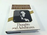 Winston Churchill Thoughts and Adventures HC/DJ 1st American