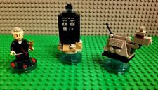 Lego Dimensions Dr Who Level Pack 71204 - Tardis K9 Mini Figures Tested Works!!