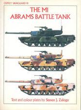 OSPREY VANGUARD 41 M1 ABRAMS MBT US ARMY CHOBHAM  XM1 REFORGER MERDC CREW ARMAME