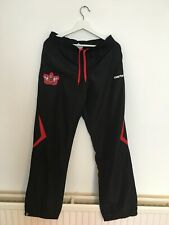 Exeter City Black Carbrini Football Tracksuit Bottoms Adult Size Small