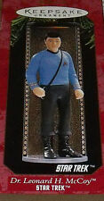 Hallmark Ornament Star Trek Dr Leonard H McCoy In Box Vtg 1997