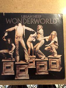 Uriah Heep- Wonderworld LP EX