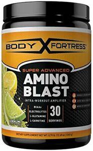 Body Fortress Super Advanced Amino Blast Lemon Lime 360 Grams