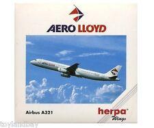 Herpa 508674 Aero Lloyd Airbus A321-200 1:500 Scale Diecast RETIRED 2000 Mint