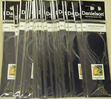 Danielson Snelled Baitholder Hooks Bronze 24 pks Size 14 Wholesale Fishing Lot