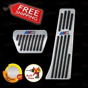 Non-Drill ALUMINUM AUTOMATIC Pedals for E36 E46 E81 E82 E87 E88 E90 E91 E92 E93