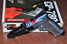 Chicago Pneumatic 780 Pistol Grip Screwdriver w external clutch adjustment Japan