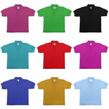 T-shirts et débardeurs polos sans motif pour fille de 2 à 16 ans
