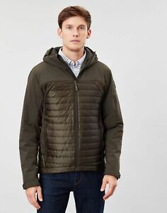 Joules Mens Wentworth Padded Jacket - Heritage Green - L