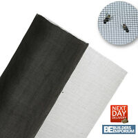 Fly Mesh Fiberglass 30mtr Roll x 1.2m & 0.6m Grey For Unwanted Insect & Bugs