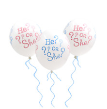 10pcs He or She Latex Balloons Birthday Party Supplies Baby Shower Decorations