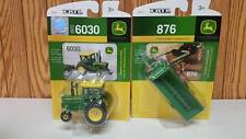 John Deere 6030 WF  6 Wheeler  Cab Tractor & a 876 V Tank Spreader 1:64   Ertl