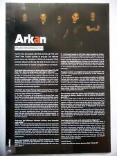 COUPURE DE PRESSE-CLIPPING :  ARKAN  08-09/2008 Foued,Hilal
