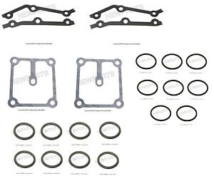 For BMW E39 E52 M5 Cover Gaskets Gasket for Vanos Unit Solenoid Covers O-Rings