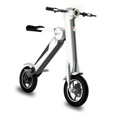 Q Bike.250w Folding Electric Bike - eBike in Black or White Scooter Electric @