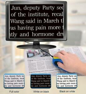 Electronic Read Magnifier Assist Low Vision Mouse TV/AV Digital Visual Reading