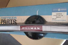 Hillman Super Minx and Minx OEM Rootes Steering Wheel Horn Cover Concourse