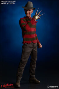 Sideshow 100359 1/6 Dream Warriors Freddy Krueger 12'' Action Figure Gift