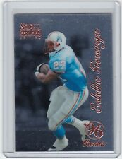 1996 Select Certified #100 Eddie George RC Rookie Houston Oilers