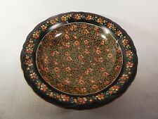 """Early Chintz Crown Ducal Delhi 10 1/2"""" Serving Bowl Stoke on Trent England"""