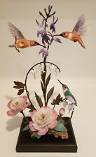 Franklin Mint The House Of Faberge Splendor In The Garden Hummingbird Figurine