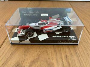Minichamps 1:43 #400040216 Panasonic Toyota Racing F1 TF104 J. Trulli