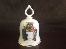 """Back to School� Vintage Norman Rockwell Collectible Bell - 1979 Ltd Ed."
