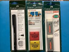 Faber-Castell Artist Pen, Art Erasers, Dust Free Erasers