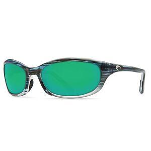 COSTA Harpoon Sunglasses Green Mirror Copper 580 P Topaz Fade Frame