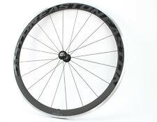"Easton ec70 sl carbon 700c rueda delantera 622x15 28"" Clincher Road bicicleta de carreras en rueda"