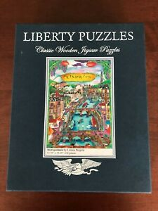 Liberty Puzzles Classic Wooden Jigsaw Puzzle, Metropolitain, 616 pieces