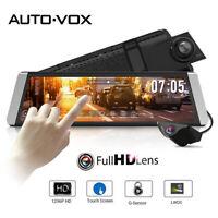 AUTO-VOX X1 Dashcam Dual Lens Auto Video Recorder Rückspiegel Monitor Kamera