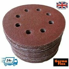 Deerfos Lot de 10 disques abrasifs 300 mm Grain P120