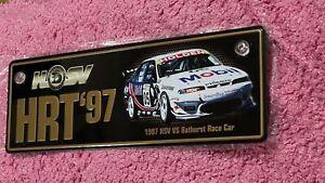 Holden BROCK 05 SKAIFE HSV VS HRT 97 Number Plate Ltd Chevrolet