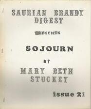 Star Trek Fanzine Saurian Brandy Digest #21